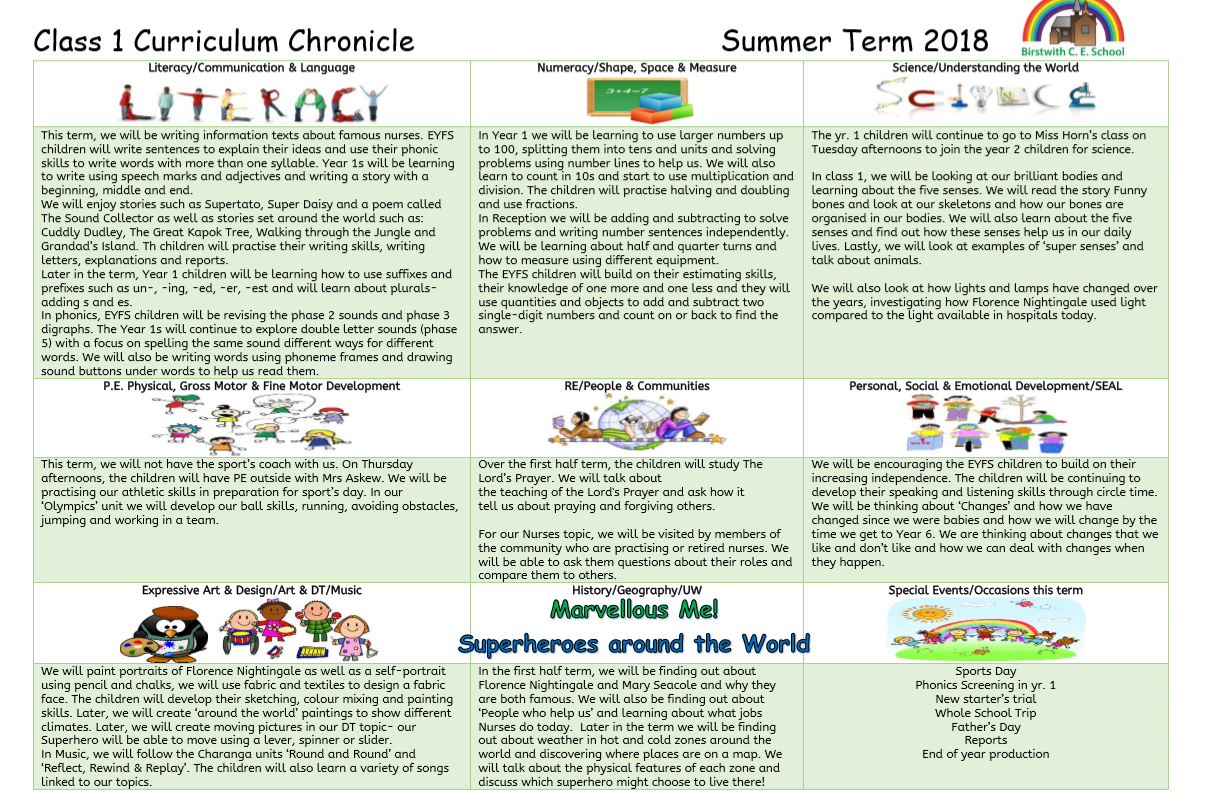 Curriculum Chronicle Summer(1)
